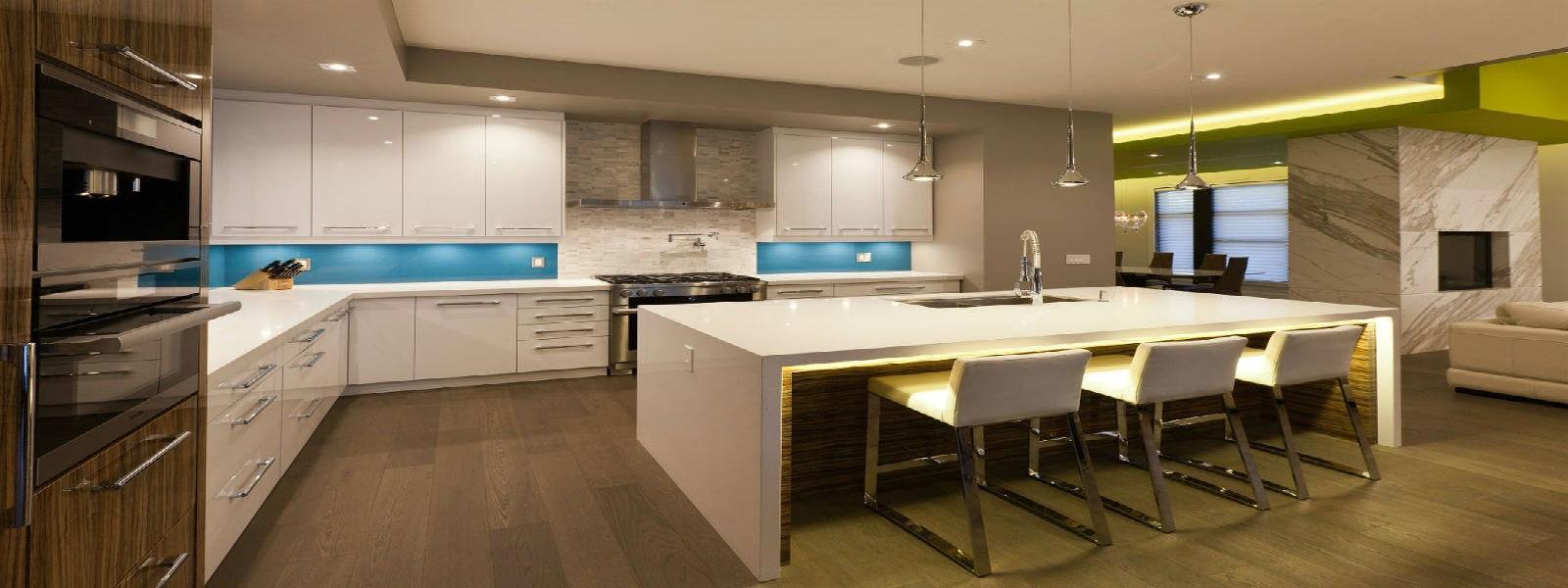 Slider 1 – white acrylic cabinets